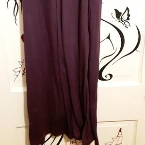 No Boundaries Dresses - No Boundaries Long Dark Plum Purple Summer Dress